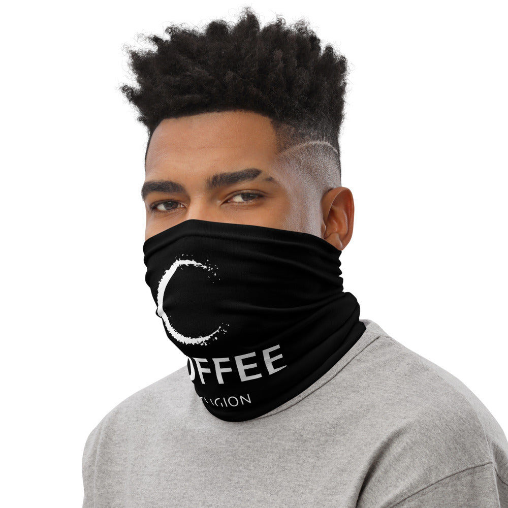 COFFEE RELIGION Neck Gaiter Face Mask