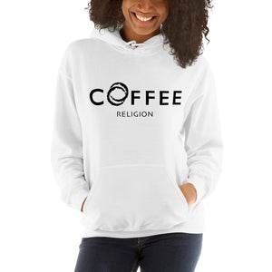 Open image in slideshow, COFFEE RELIGION Embroided Unisex Hoodie