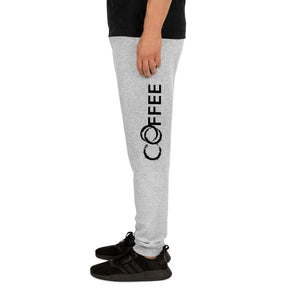 Open image in slideshow, COFFEE Religion Grey Unisex Sweat Yoga Pants Joggers