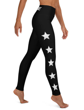 COFFEE RELIGION STAR Active Wear Yoga Leggings