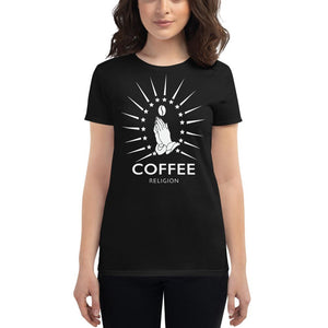 COFFEE RELIGION Fashion fit t-shirt - COFFEE RELIGION