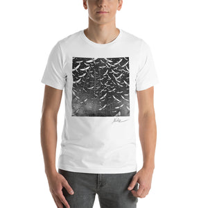 Open image in slideshow, MYRIADS by Artist Nele Zirnite Graphic Short-Sleeve Unisex T-Shirt