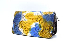 Python women's wallet with zip