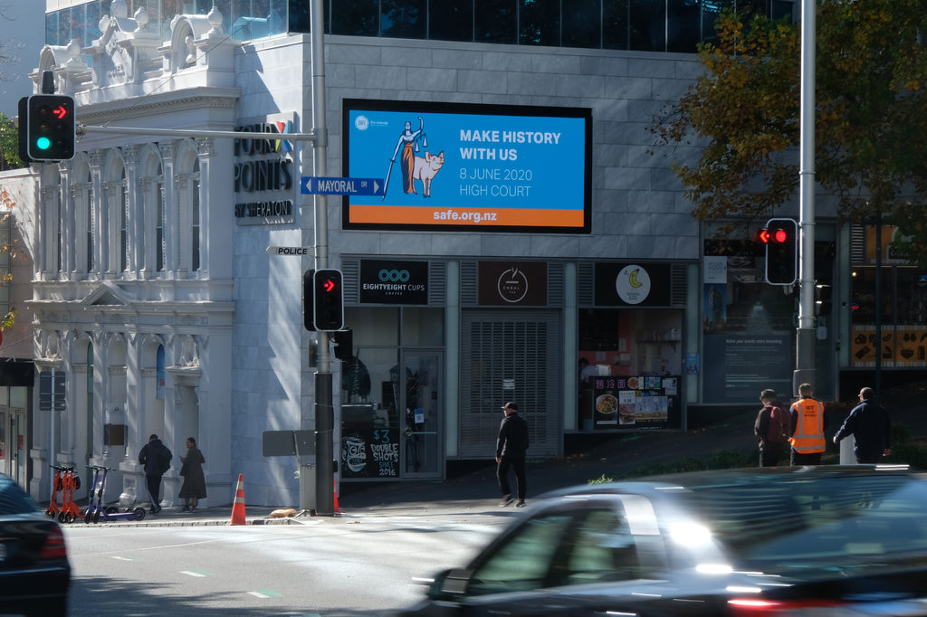 Digital Billboard, Queen Street, Auckland