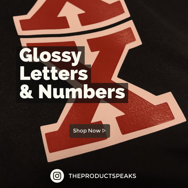 Glossy Letters & Numbers