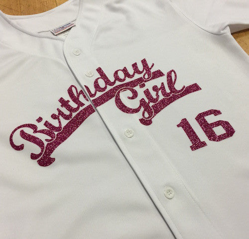 CUSTOMIZE YOUR SPECIAL BIRTHDAY JERSEY