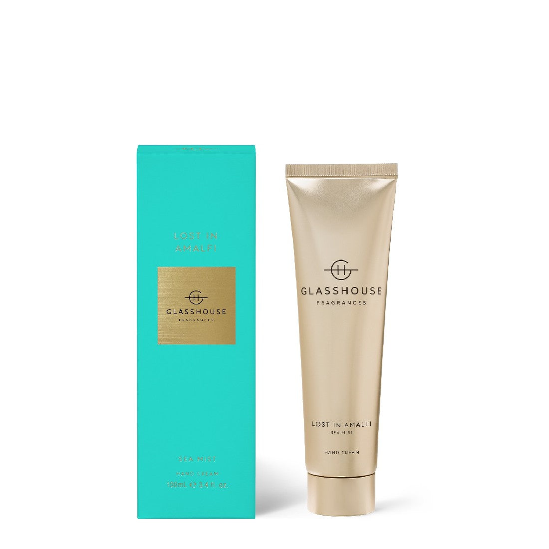 GLASSHOUSE SEA MIST- LOST IN AMALFI 100ml HAND CREAM