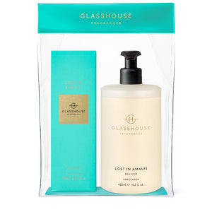 GLASSHOUSE SEA MIST- LOST IN AMALFI HAND GIFT SET