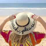 "BEACH PLEASE HAT | CHAPÉU ""BEACH PLEASE"""