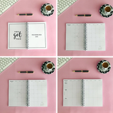 LIFE PLANNER * FLOWERS * 12 MONTH AGENDA