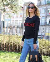 "* DAYS OF THE WEEK * SWEATER | Sweater ""Dias da Semana"""
