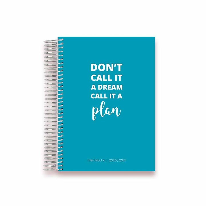 ACADEMIC PLANNER * CALL IT A PLAN * AGENDA 2020/2021