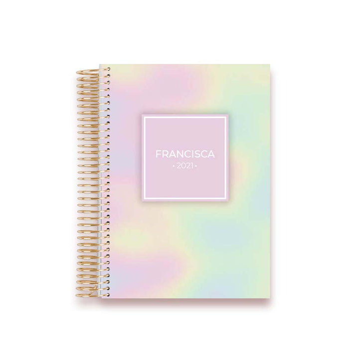 LIFE PLANNER 2021 * HOLOGRAPHIC * 12 MONTH AGENDA