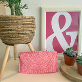 PIPER CLUTCH | LIGHT PINK