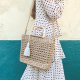 CANDACE TOTE | SAND