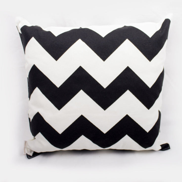 LEMON PILLOWS | CHEVRON