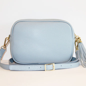 MONOGRAM CAMERA BAG | CANDY BLUE