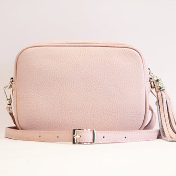 MONOGRAM CAMERA BAG | COTTON PINK
