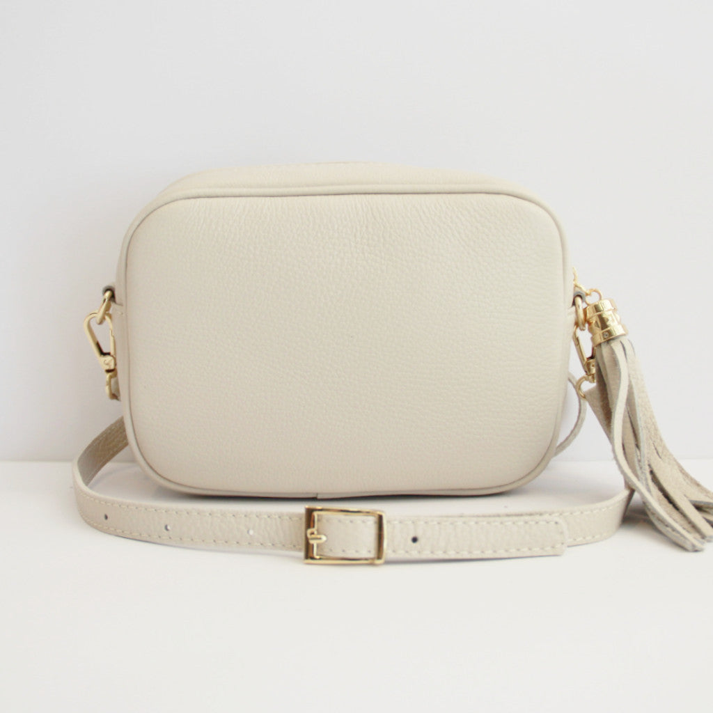MONOGRAM CAMERA BAG | SANDY BEIGE