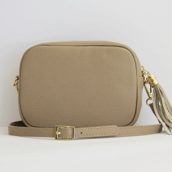 MONOGRAM CAMERA BAG | CARAMEL MACCHIATO