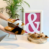 HERMIONE SANDALS | GOLD