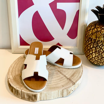 HERMIONE SANDALS | WHITE
