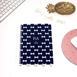 LIFE PLANNER * PREPPY BOWS * 12 MONTH AGENDA