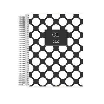 LIFE PLANNER * BIG DOTS * 12 MONTH AGENDA