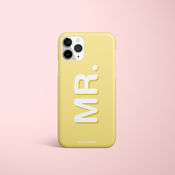 Custom iPhone case * INITIALS *