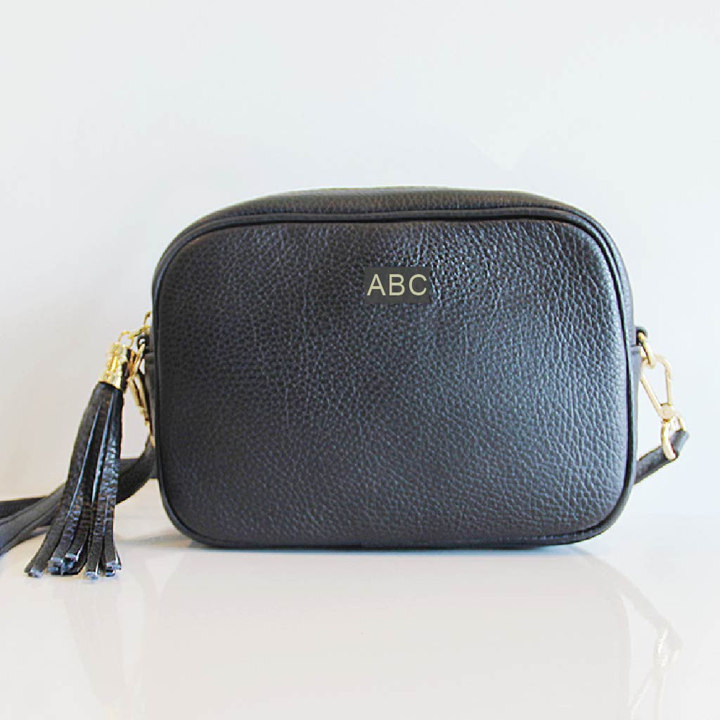 MONOGRAM CAMERA BAG | BLACK