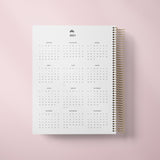 DAILY PLANNER * LIGHT PINK STRIPES * UNDATED AGENDA | PLANNER DIÁRIO PERPÉTUO
