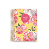 ACADEMIC PLANNER * WATERCOLOR BOUQUET * AGENDA 2020/2021