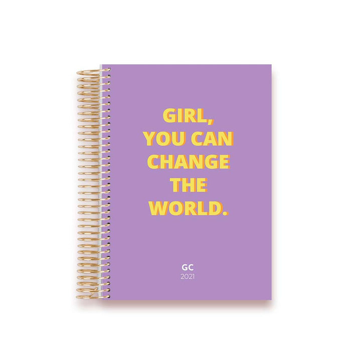 LIFE PLANNER 2021 * CHANGE THE WORLD * 12 MONTH AGENDA