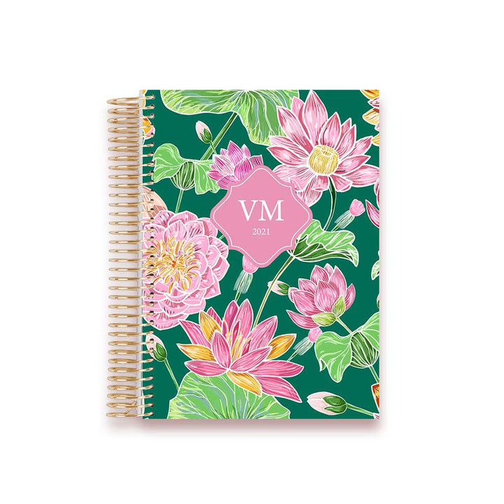LIFE PLANNER 2021 * FLOWER POP * 12 MONTH AGENDA
