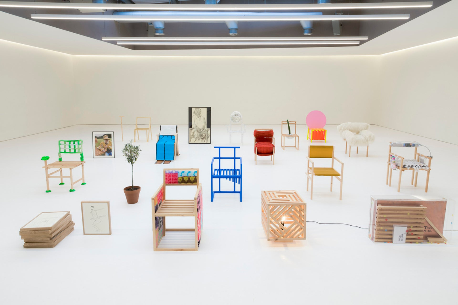 Chairs offered through the 19 Chairs charity auction. Photo © Will and Tom Butterfield