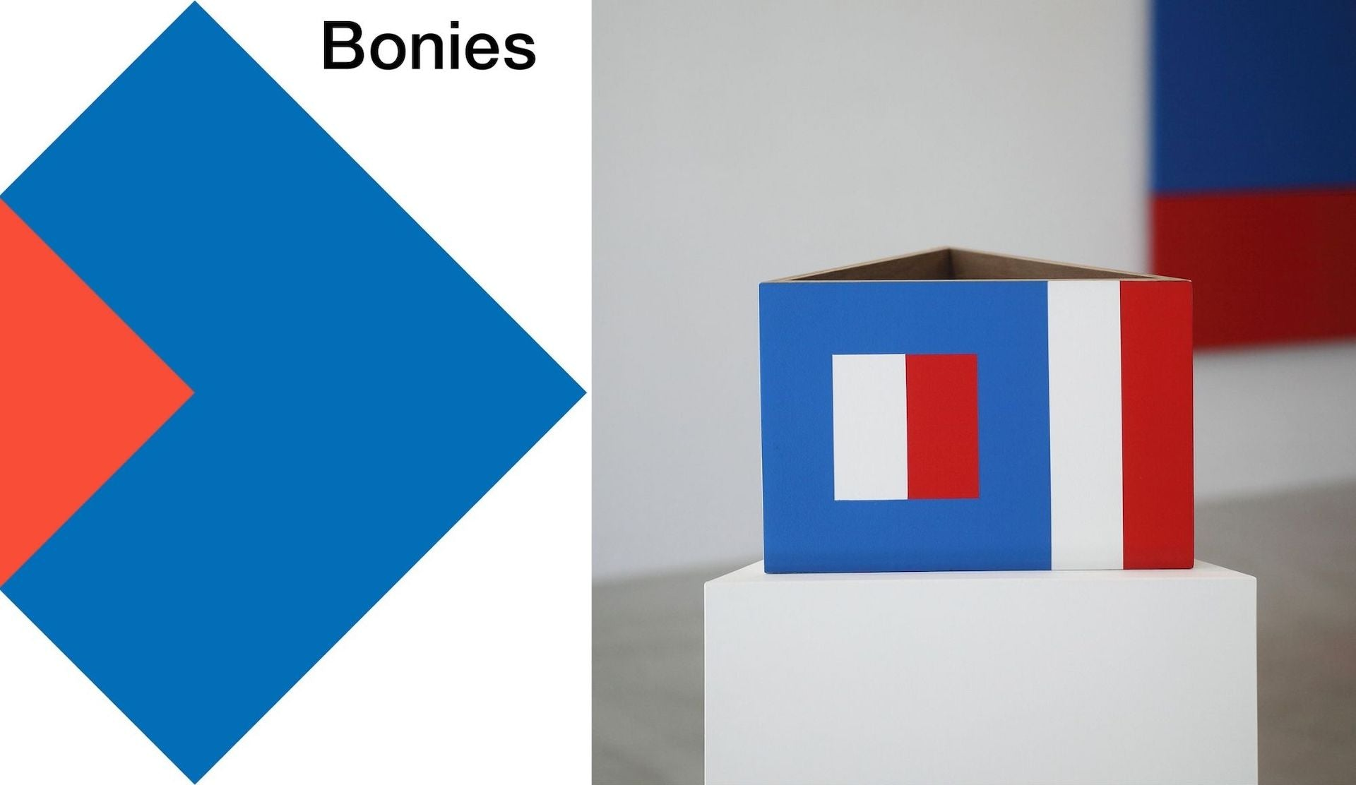 Bonies: Concrete Art 1965-2021, currently on view at Galerie VIVID and accompanied by a new monograph on the Dutch Concrete artist. Photo © Galerie VIVID