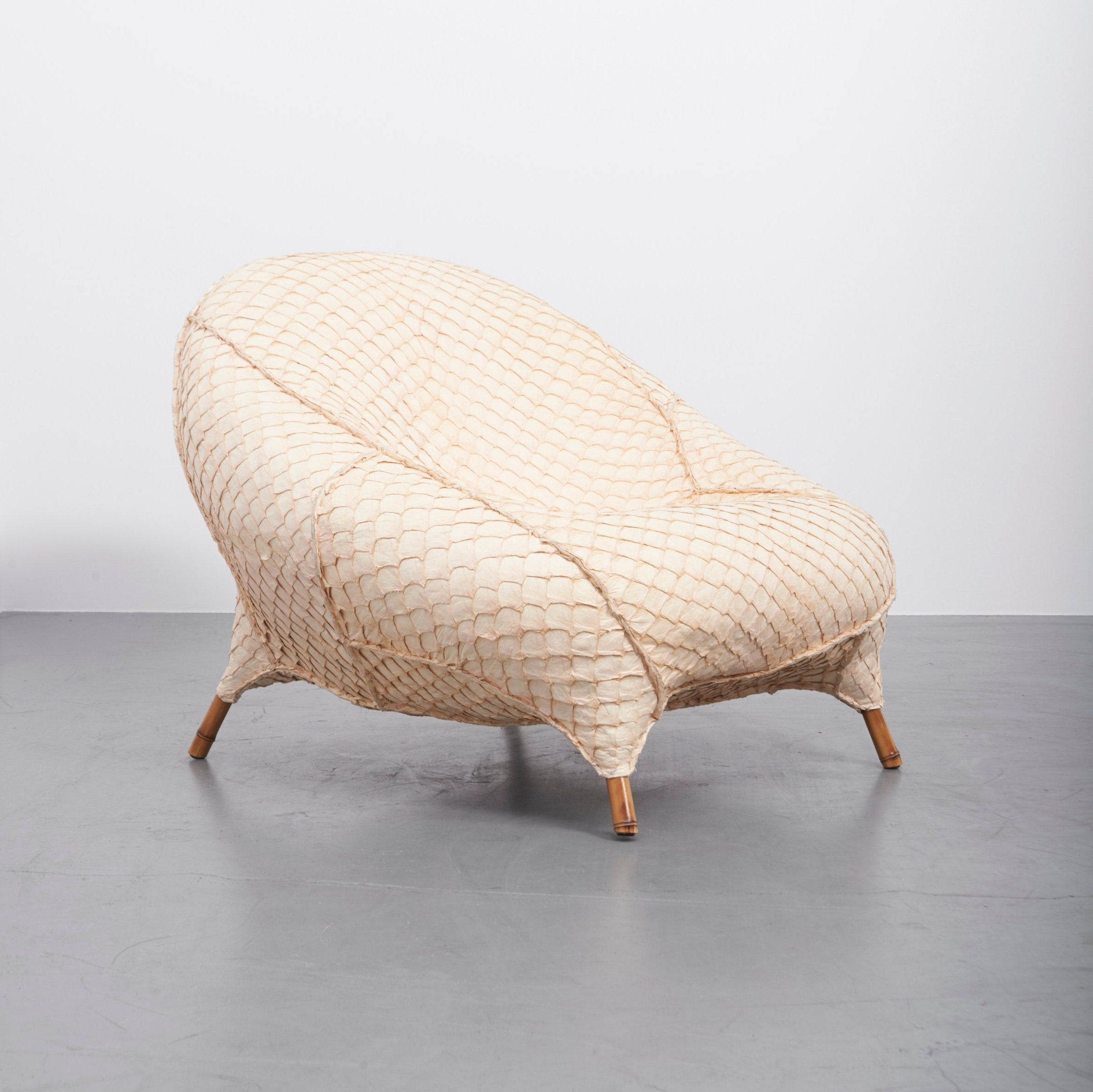 Pirarucu Armchair by the Campana Brothers for Carpenters Workshop Gallery, 2015. Photo © Carpenters Workshop Gallery