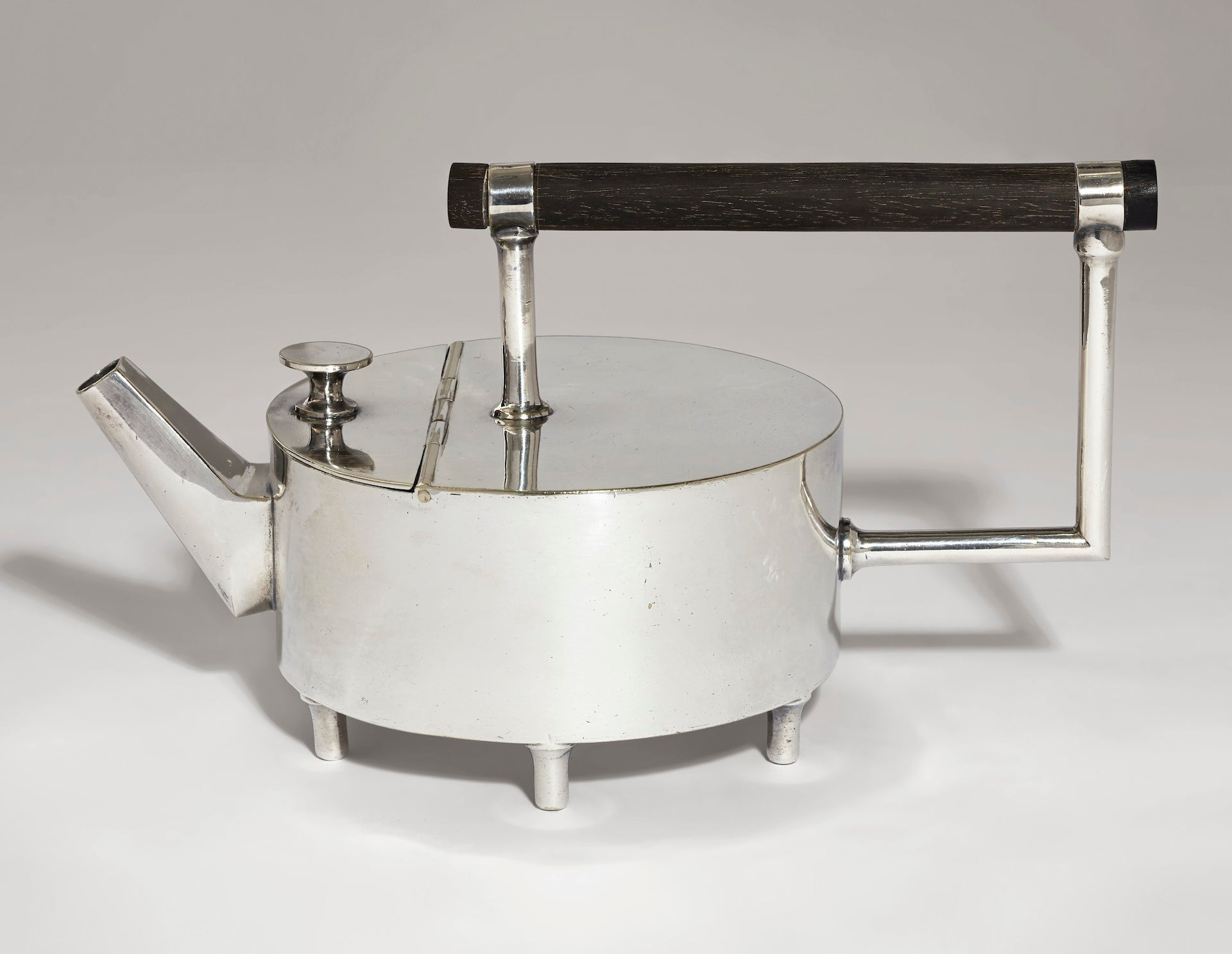 Rare Teapot by Christopher Dresser, c. 1879. Sold at Christie's New York in 2019 for $399,000. Photo © Christie's