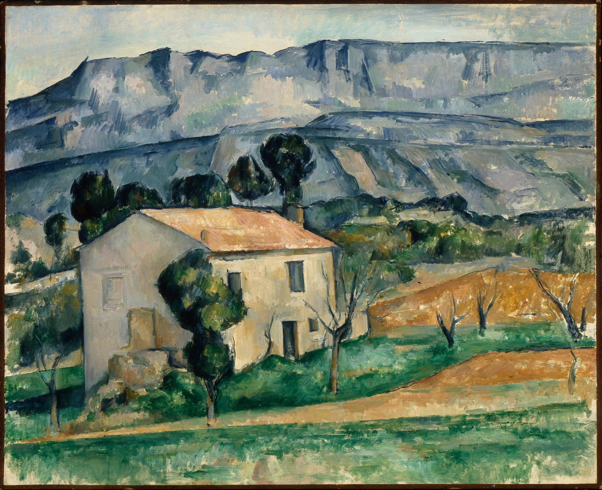 House in Provence by Paul Cezanne, c. 1885. Photo courtesy of the Indianapolis Museum of Art at Newfields