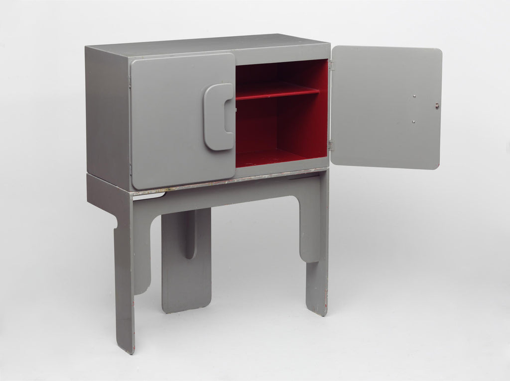 Cupboard with Stand by Max Clendinning, 1965, in the V&A Collection. Photo © V&A Museum
