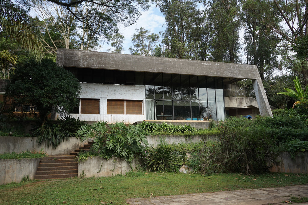 Casa Broos by Hans Broos, a Brazilian interpretation of Modernism (1971-78). Photo © Adam Štěch