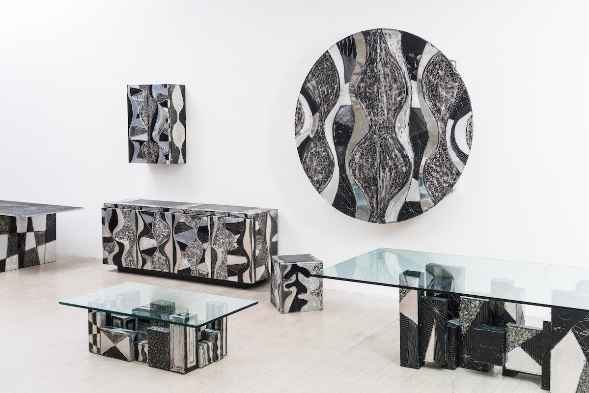 The Argente Collection by Paul Evans. Photo © Simon Leung; courtesy of Todd Merrill Studio