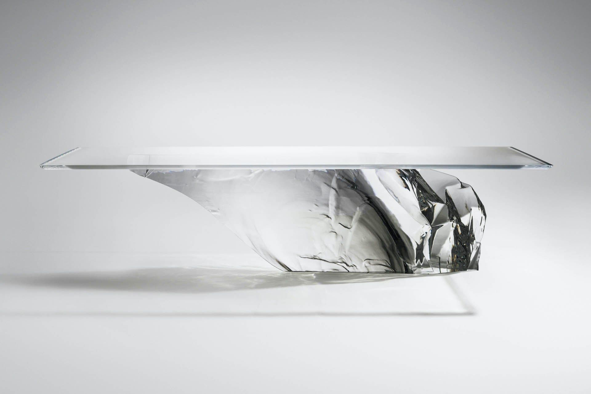 Dining Table Antarctica by Fredrikson Stallard for David Gill Gallery, 2017; Edition of 12 + 2P.  Photo © David Gill Gallery