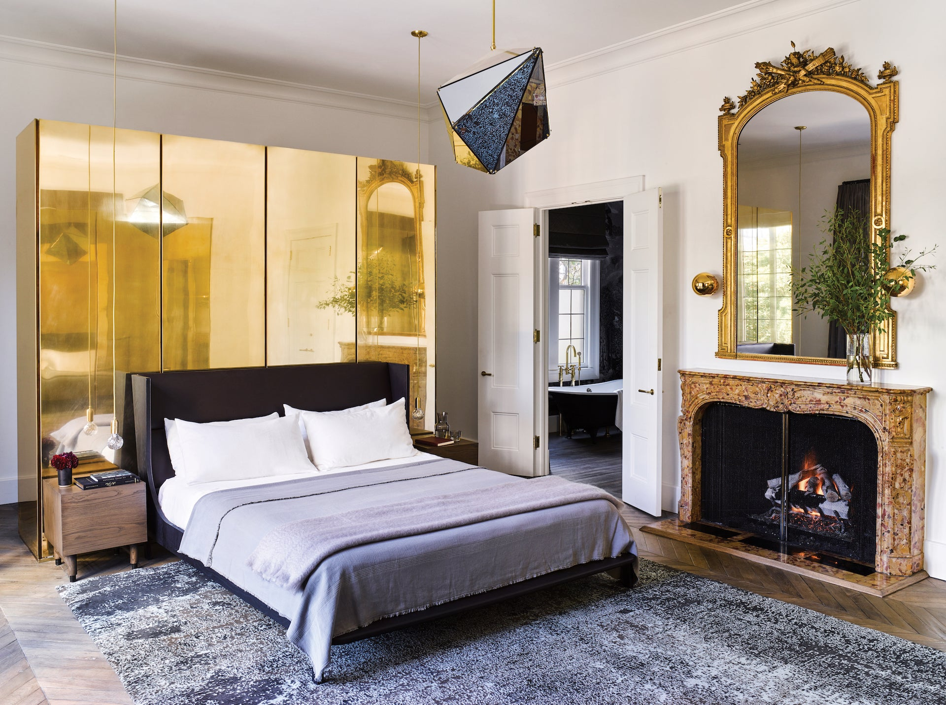 A bedroom in a San Francisco home designed by Hollis. © NICOLEHOLLIS: Curated Interiors by Nicole Hollis, Rizzoli New York, 2020. Photography © Douglas Friedman and Laure Joliet