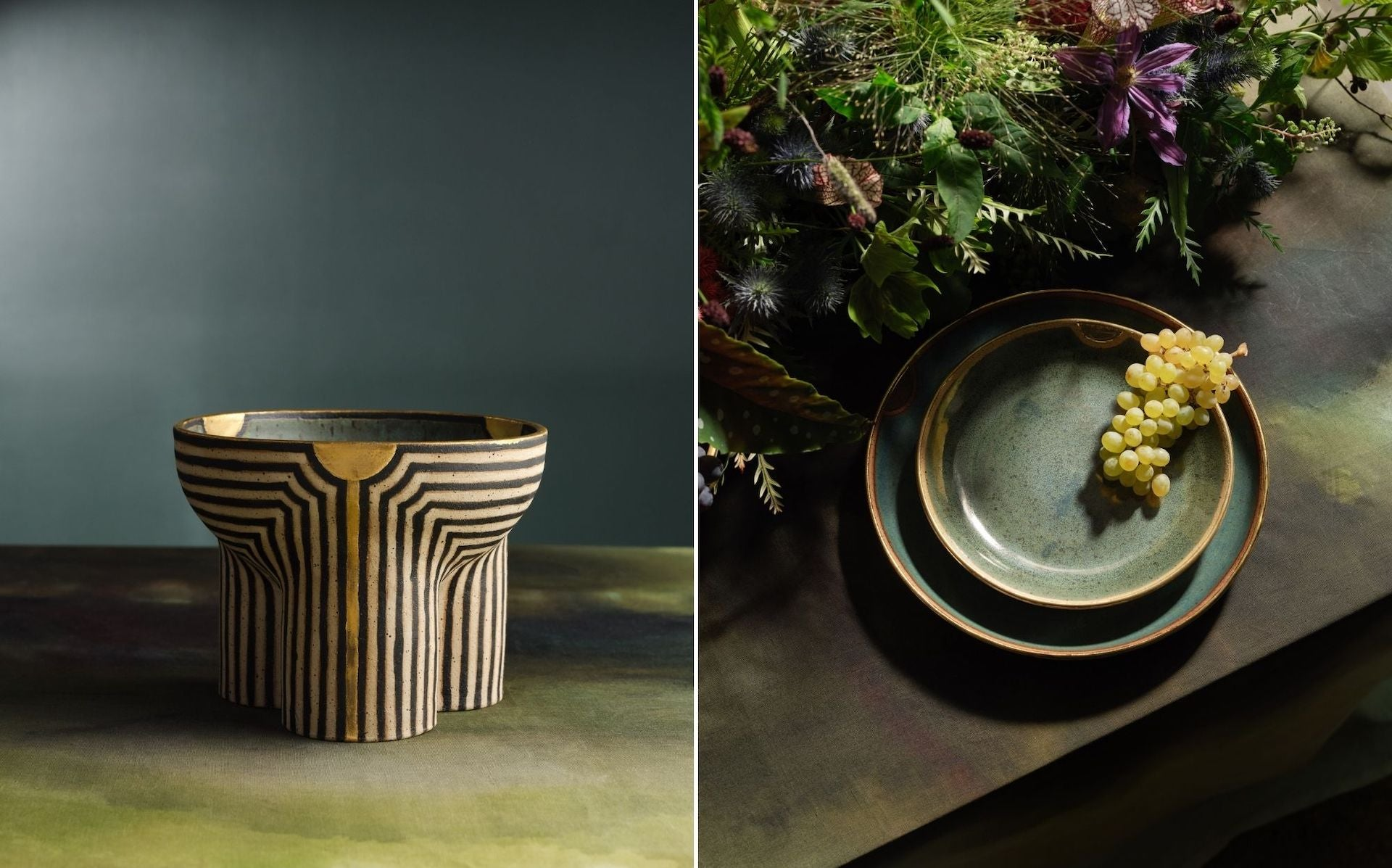 Ceramic Dinnerware and Piccolo Bowl by Jeremy Anderson for The Feast. Photos © DM/BX