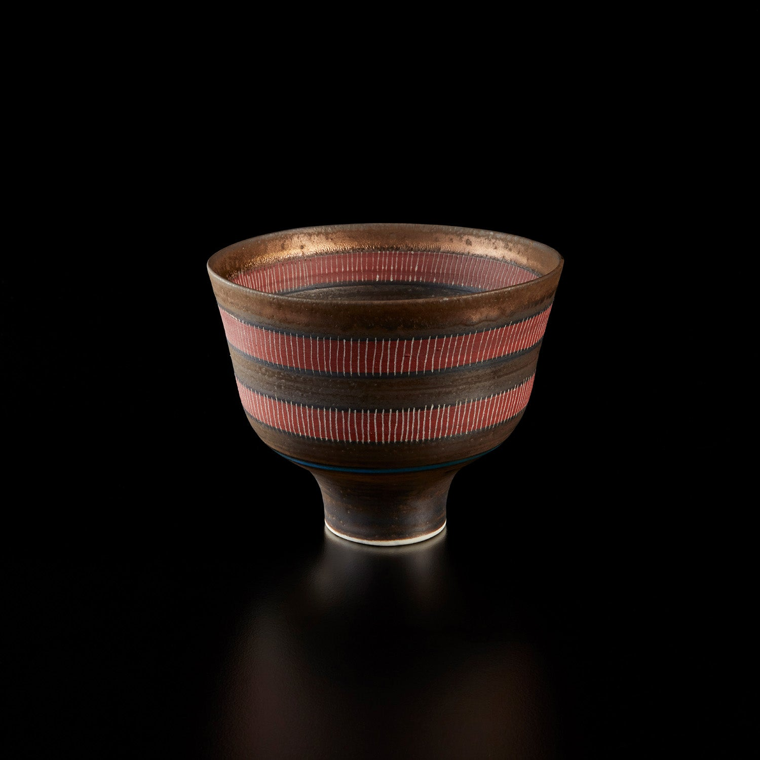Footed Bowl (circa 1978) by Lucie Rie sold at Phillips New York in July for $225,000. Photo © Phillips