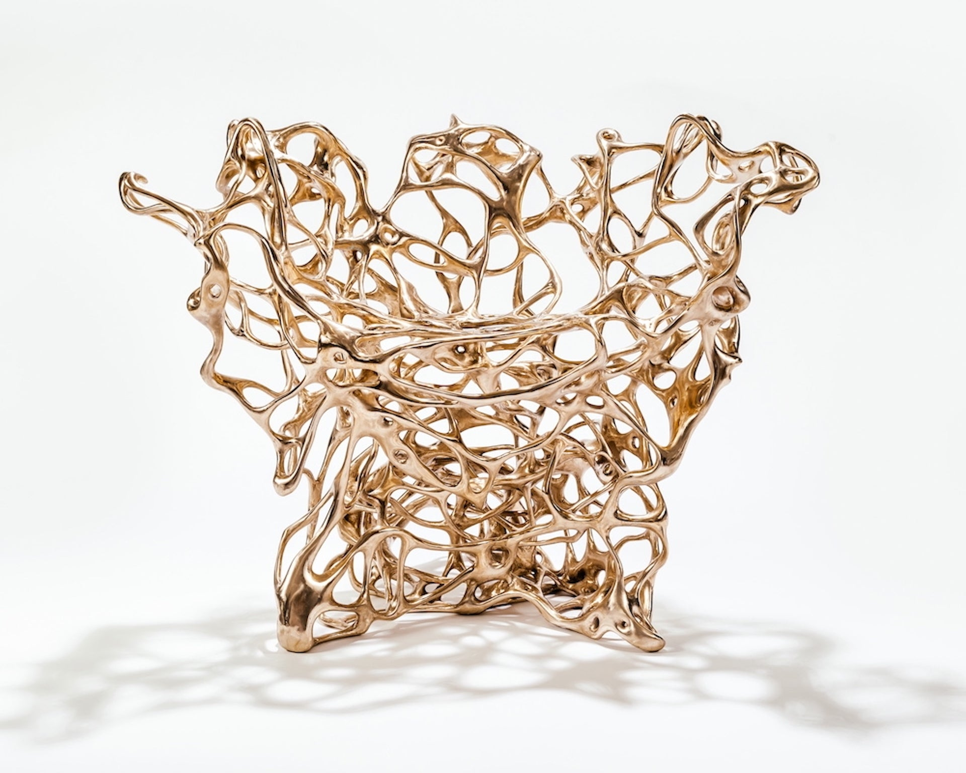 Bronze Growth Chair by Mathias Bengtsson, 2012. Photo © Maurizio Camagna; Courtesy of the artist