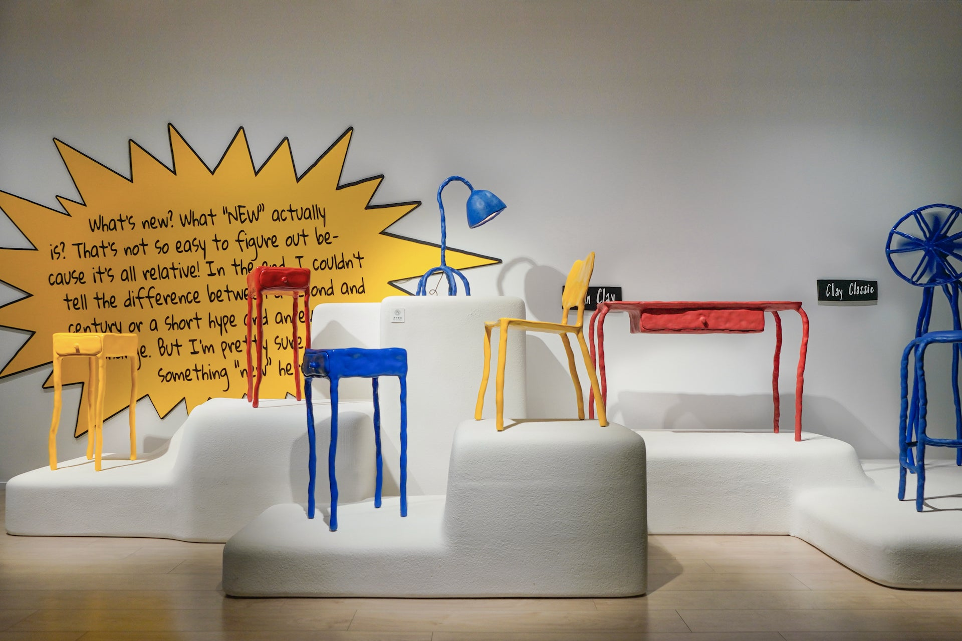 What's New by Maarten Baas, presented by GDD and Gallery All. Photo © Gallery All