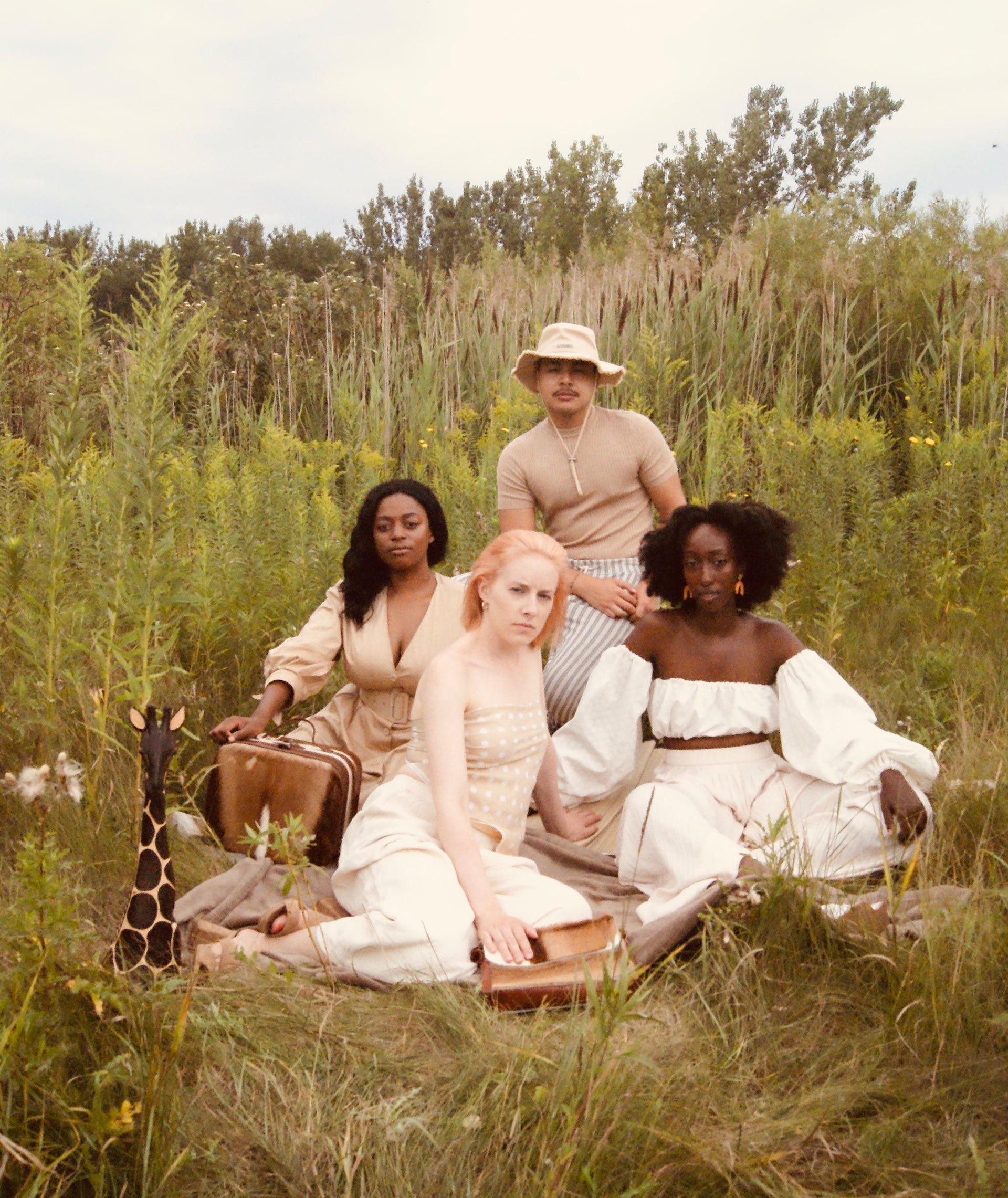 """""""This image speaks to immigration, to the journey that many of us take to America,"""" Nomsa Moyo says. """"In doing so, we design a society of blended thoughts, culture, and identity.""""  Photo © Nicole Nomsa Moyo"""