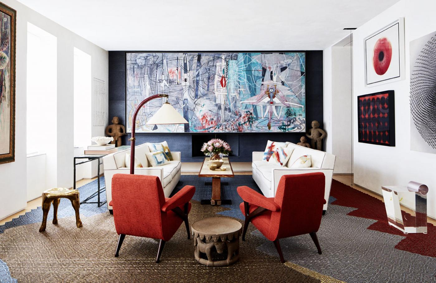 Park Avenue Triplex by Amy Lau. Photo © Thomas Loof